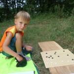 один из самых юных и активных участников, Ерофей Радогорович, 5 лет