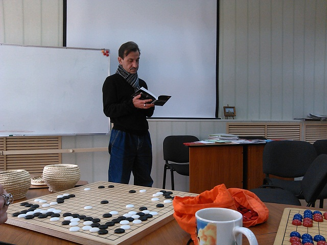 Геннадий Шаталов, гость турнира